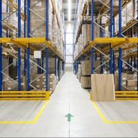 Logistics warehouse industry served by NOVEXX Solutions