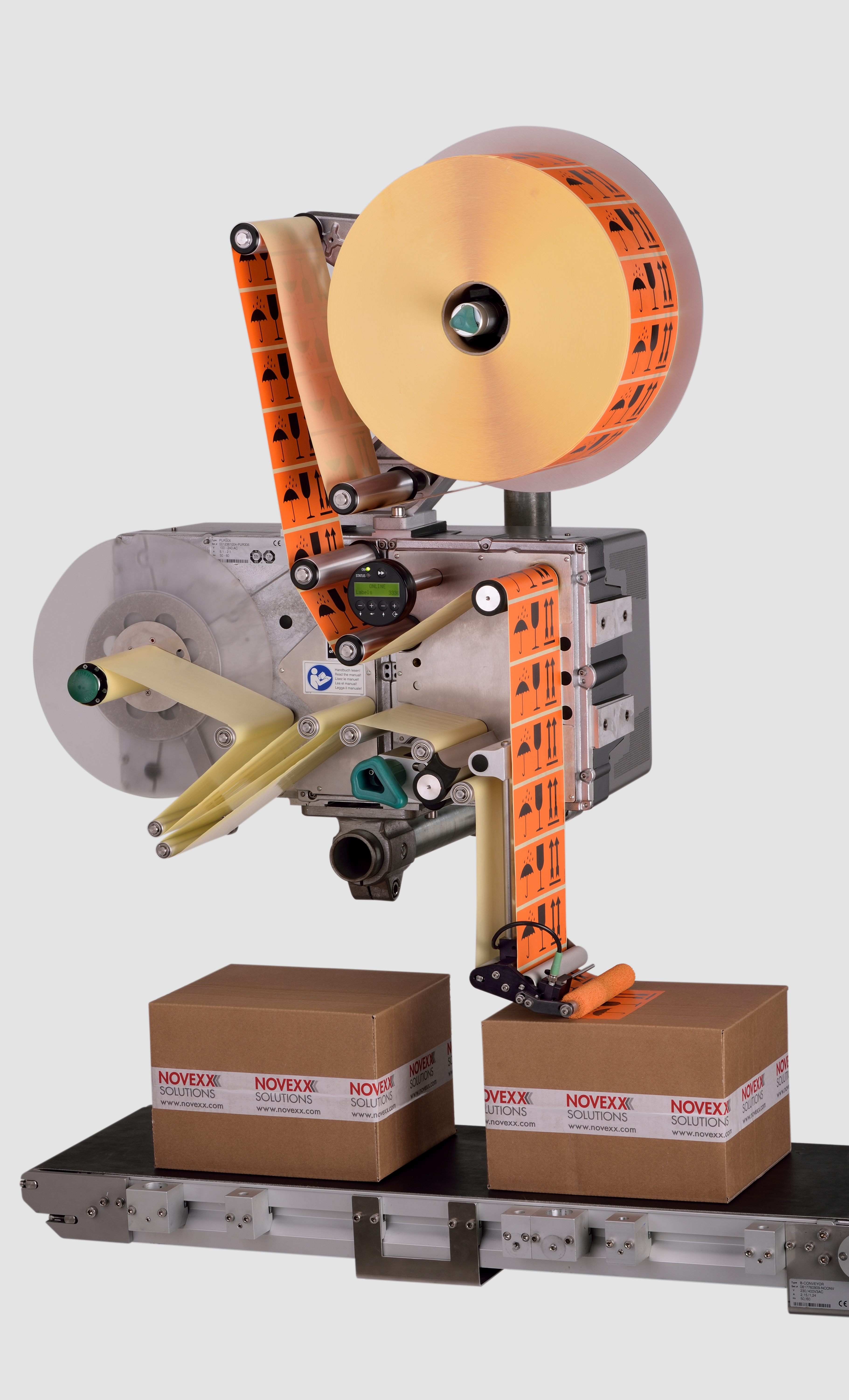 ALS modular labeling systems by NOVEXX Solutions