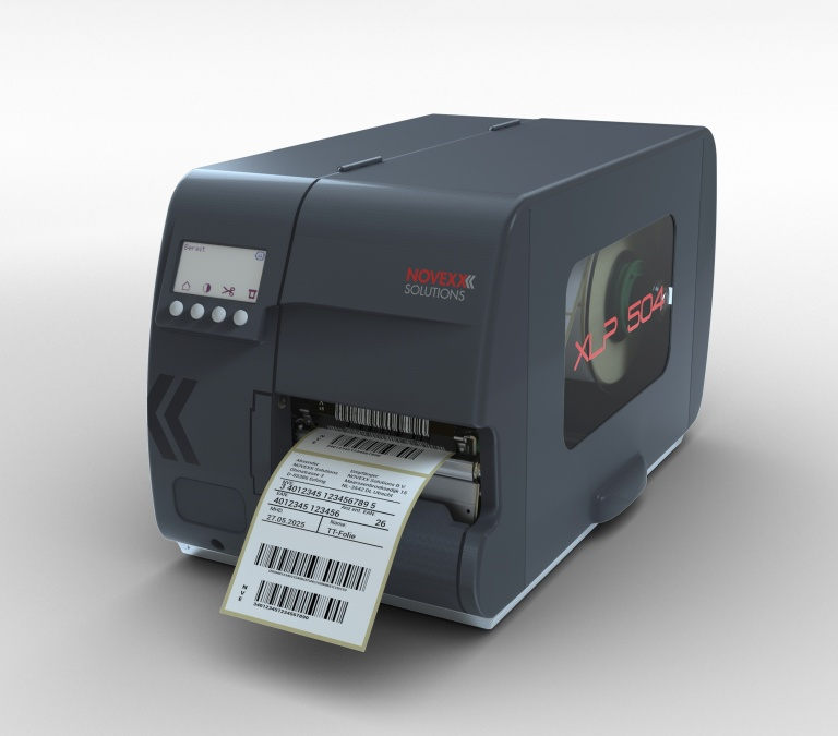 Press release: XLP 504 label printer - NOVEXX Solutions