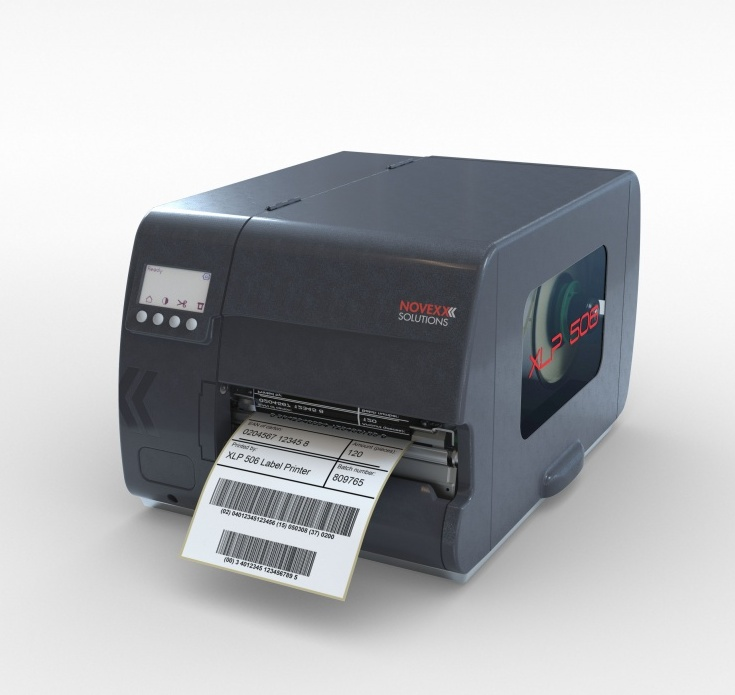 XLP 506 label printer by NOVEXX Solutions