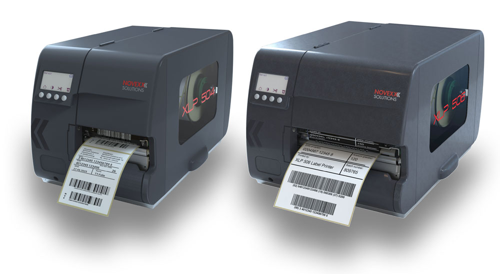 XLP 50x label printers by NOVEXX Solutions
