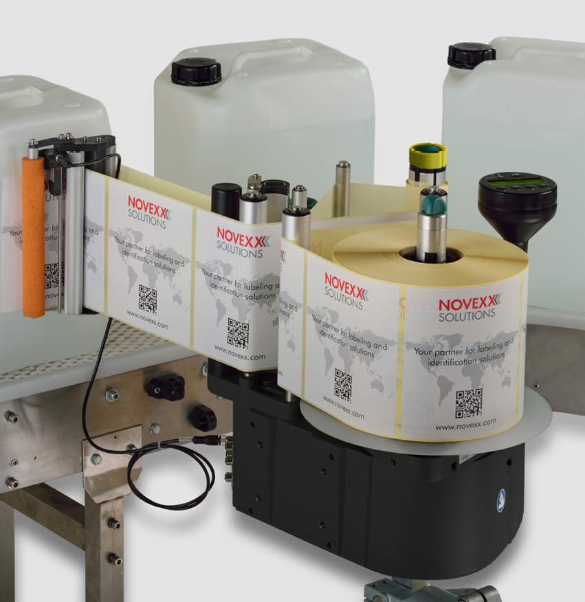 XLS 209 labeler by NOVEXX Solutions